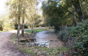 Joint effort drain at Lodi Wilderness area